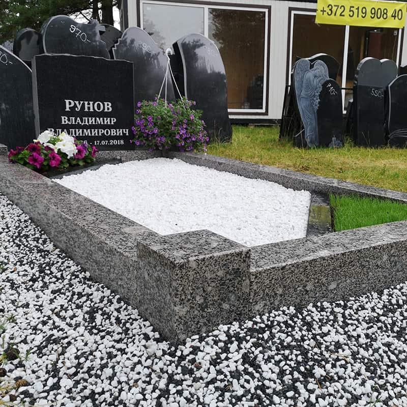 Благоустройство захоронений | granit vozrozhdenie primer
