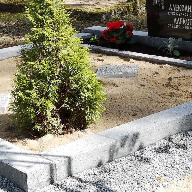 Благоустройство захоронений | shlifovannyj beton primer