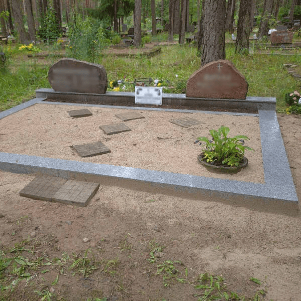 Благоустройство захоронений | graniitplaat uldvaade